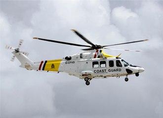 Dutch Caribbean Coast Guard - An AW139 from the Dutch Caribbean Coast Guard