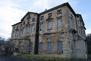 Grade II* listed buildings in Tyne and Wear - Image: Axwell Hall (derelict) 2003 (1382922501)