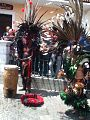 Aztec dancers in Holy Week in Real del Monte Mexico.jpg