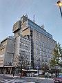 Bělehrad, Vračar, budova telekomu II.jpg