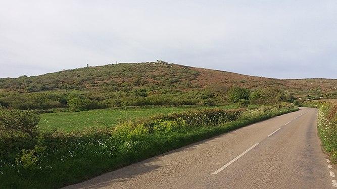 B3306 towards Rosewall Hill.jpg