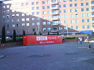 BBC Box - The box in London