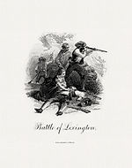 Vignette of the Battle of Lexington