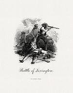 Vignette of the Battle of Lexington