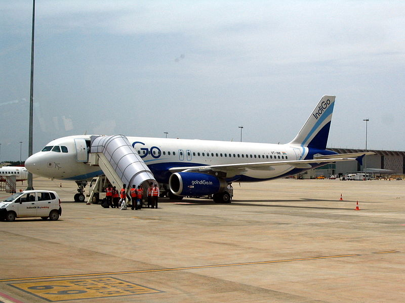 Indigo plane shown just for illustrative purposes - wikipedia