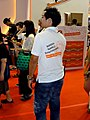BNET booth male staff, Comic Exhibition 20170813.jpg