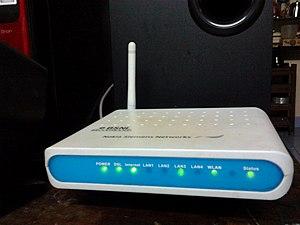 BSNL Broadband - BSNL Chennai Broadband's Wi-Fi modem from Nokia Siemens Networks