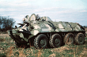 BTR-60PB eight wheeled APC (DD-ST-85-01237)