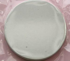 Barium titanate - Polycrystalline BaTiO3 in plastic