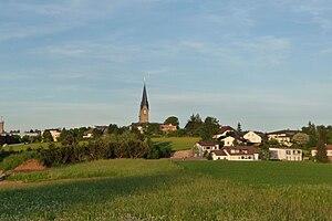 Bad Leonfelden - Image: Bad Leonfelden von West