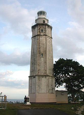 Bagacay Point Lighthouse - Image: Bagacay Point Lighthouse, Philippines