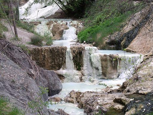Bagni san filippo terme libere in val d 39 orcia la cascata - Terme di bagni san filippo ...