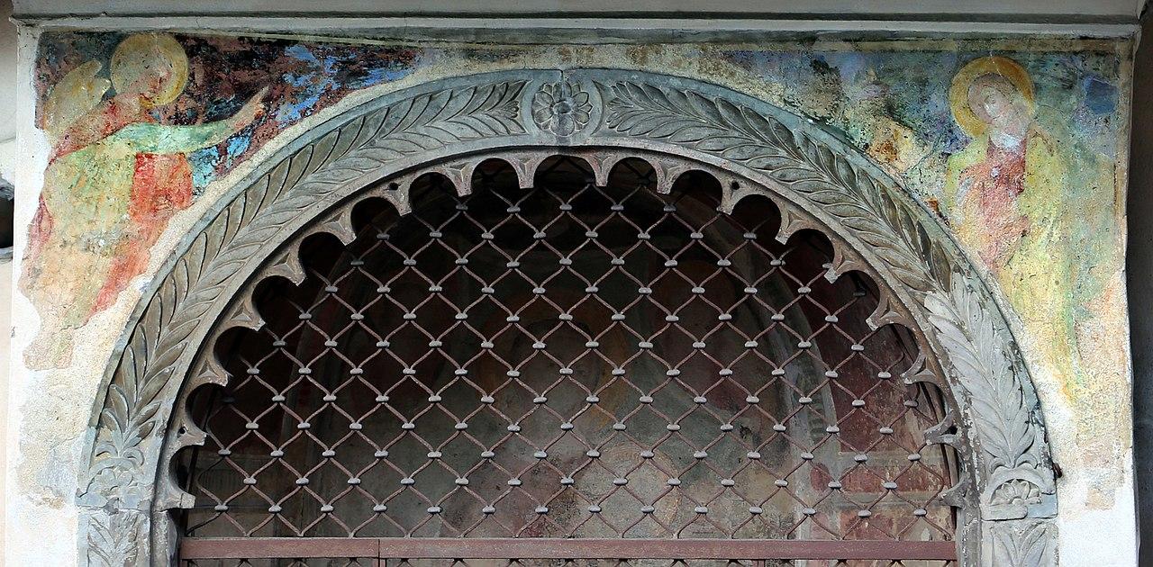 File:Bagno a ripoli, tabernacolo del podestà, 02 affreschi attr ...