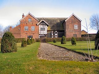 Baguley Hall 14th-century timber framed hall in Baguley, Greater Manchester
