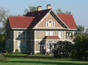 National Register of Historic Places listings in Union County, South Dakota - Image: Baker house (Union Co SD) from W 1