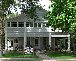 National Register of Historic Places listings in Chase County, Nebraska - Image: Balcony House (Imperial, Nebraska) from S 2
