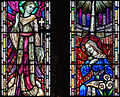 Ballylooby Church of Our Lady and St. Kieran South Transept West Window Annunciation Detail 2012 09 08.jpg