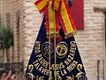 Banda, bandera, Coronación de la Virgen de la Estrella, Toledo, España, 2015.JPG