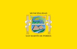 San Martín de Porres District - Image: Bandera San Martín de Porres