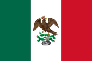 Coahuila y Tejas - Image: Bandera de Iturbide