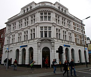 Sutton High Street - The Barclays Bank building