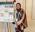 Baraa Zamara (Palestine) with the Wikipedia in Education Program in Palestine poster 2019 (cropped).jpg