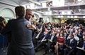 Barack Obama has a Public Farewell with Josh Earnest.jpg