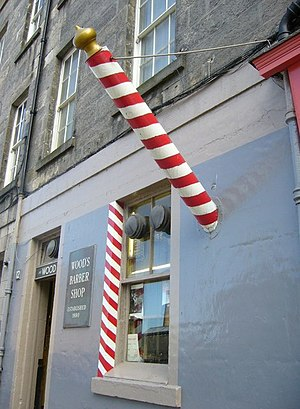 English: Barber's pole,
