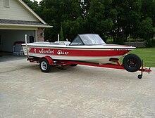 American Skier Boat model of 1976 #1