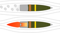 Base bleed artillery shell function.png