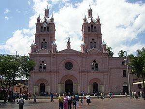 Buga. Basílica del Señor de los Milagros.