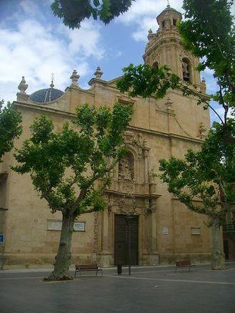 Aspe - Basilica of Nuestra Señora del Socorro (17th century).
