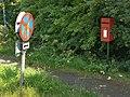 Bassingfield Lane End post box, NG12 116 - geograph.org.uk - 1385815.jpg