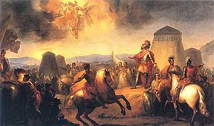 O Milagre de Ourique de Domingos Sequeira, óleo sobre a tela (1793)