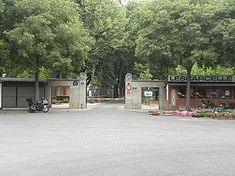 Batignolles Cemetery - Entry to Batignolles Cemetery