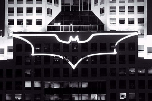 Batsignal at Highmark building