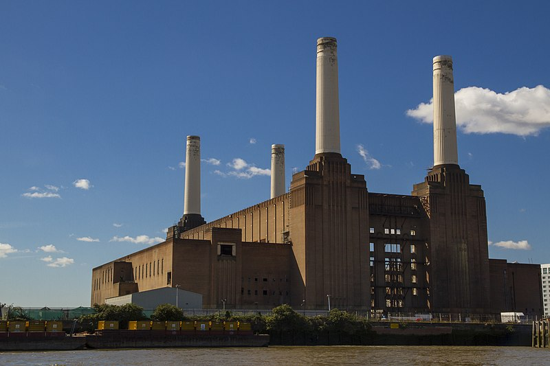 File:Battersea Power Station from the river.jpg