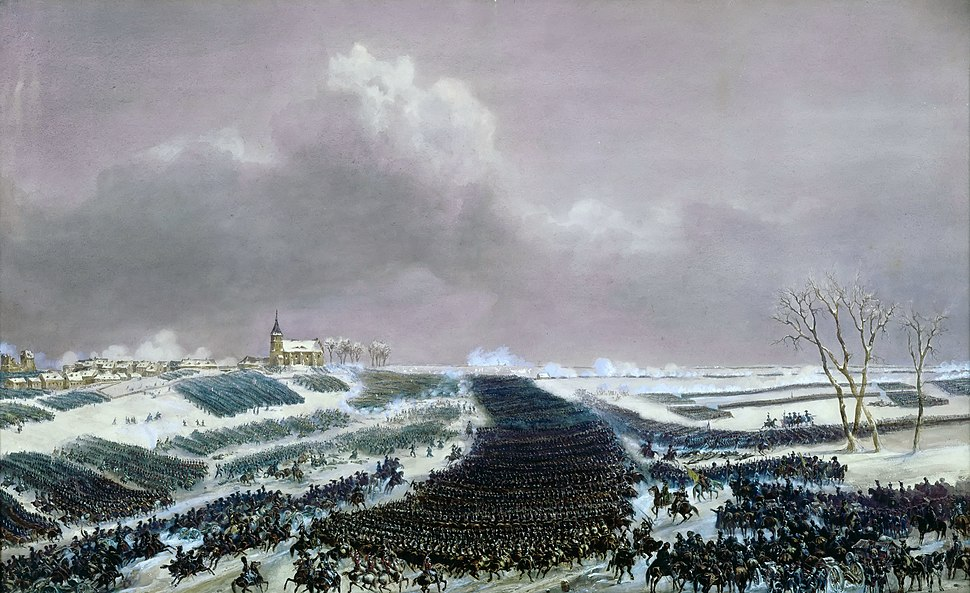Battle of Eylau 1807 by Jean-Antoine-Siméon