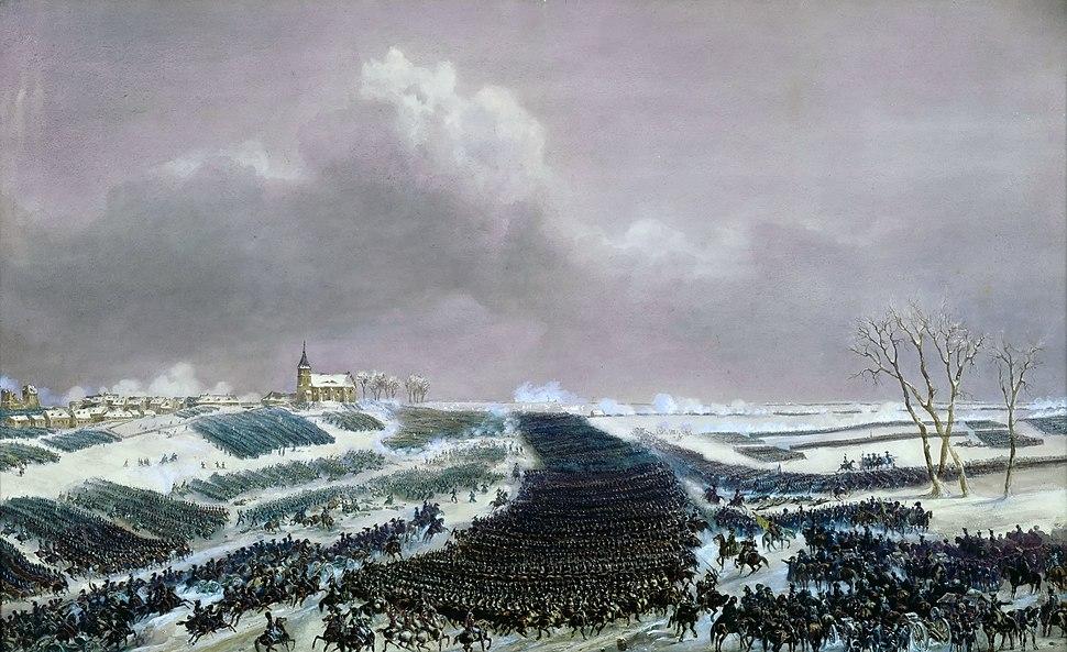Battle of Eylau 1807 by Jean-Antoine-Sim%C3%A9on