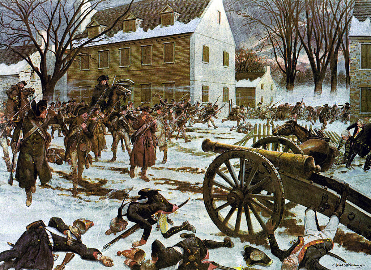 Battle of Trenton - Wikipedia
