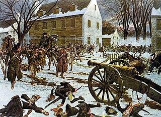 Battle of Trenton pivotal battle of the American Revolutionary War