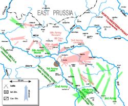 Druga faza bitwy - kontratak Wojska Polskiego