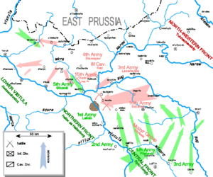 16th Army (RSFSR) - The Polish counterattack during the Battle of Warsaw