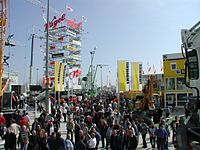 Bauma exhibition 2004 outdoor 03.jpg