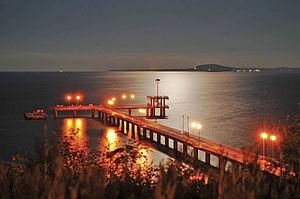 Gulf of Burgas - Image: Bay of Burgas