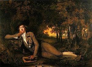 Sir Brooke Boothby, 6th Baronet - Sir Brooke Boothby, 1781 by Joseph Wright of Derby
