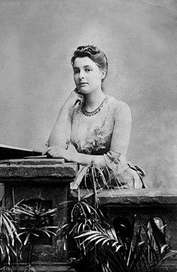 Beatrice webb, c1875
