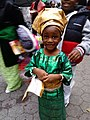Beautiful Young Nigerian Girl - Nigerian Independence Day - NYC 2016 - photo taken by Linda Fletcher Dabo.jpg