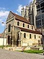 Beauvais (60), église Notre-Dame-de-la-Basse-Œuvre, vue depuis le sud-ouest.JPG