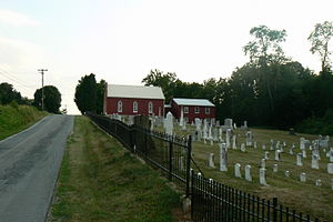 Beaver Creek, Maryland - Image: Beaver Creek Church Road
